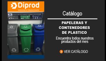 Papeleras y contenedores de plástico
